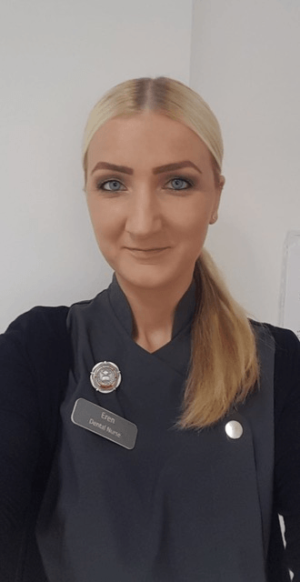 Eren Williams, dental nurse at Etwall Dental Practice