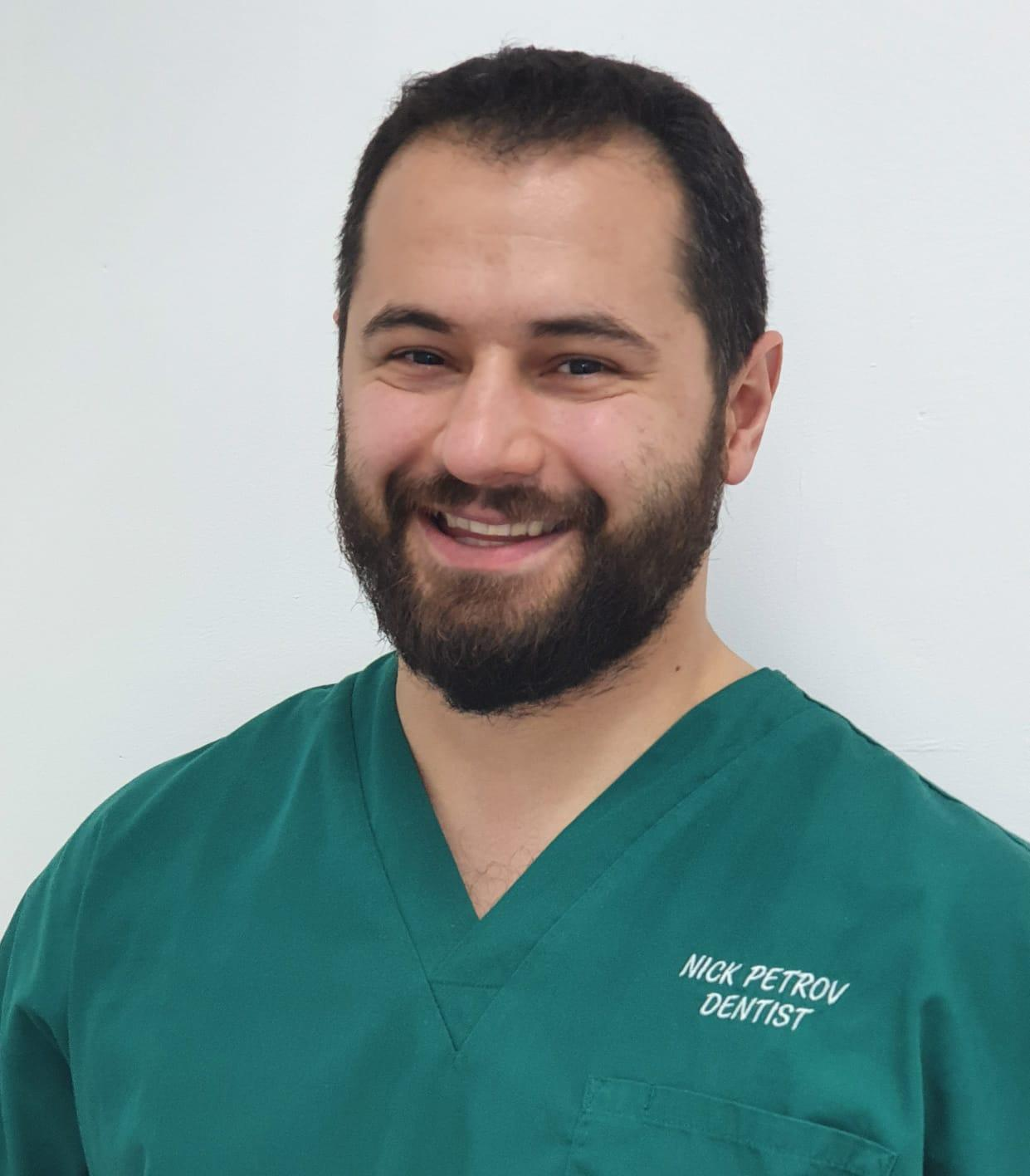 Dr Nik Petrov is a Dentist at Etwall Dental Practice